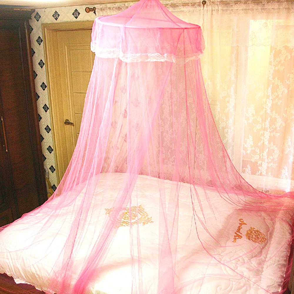 레이스 캐노피 모기장(핑크) [제작 대량 도매 로고 인쇄 레이저 마킹 각인 나염 실크 uv 포장 공장 문의는 네이뽕]
