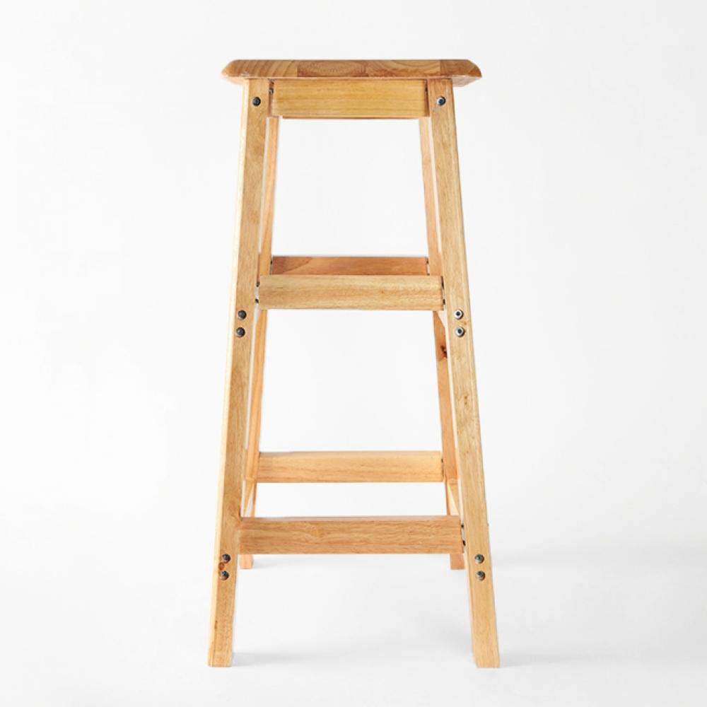 70cm 원목 사각 선반 겸 의자 [제작 대량 도매 로고 인쇄 레이저 마킹 각인 나염 실크 uv 포장 공장 문의는 네이뽕]