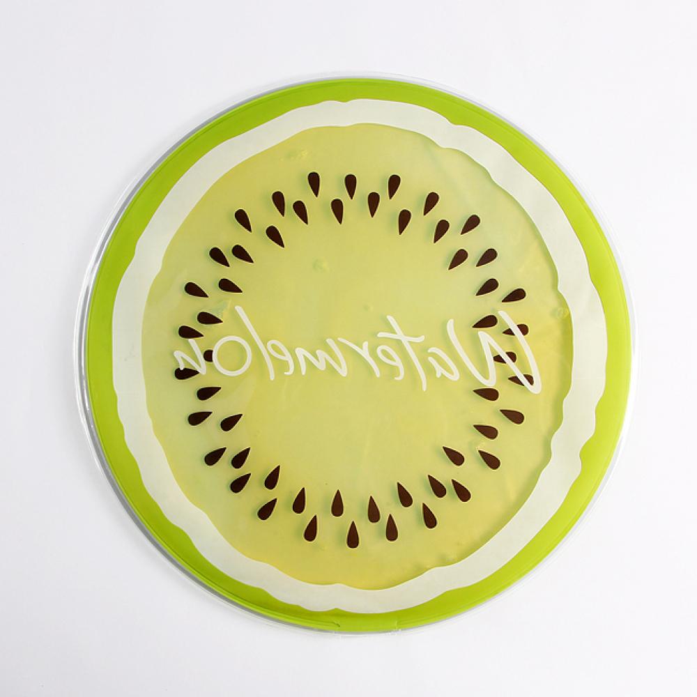 상큼 과일 아이스 방석 [제작 대량 도매 로고 인쇄 레이저 마킹 각인 나염 실크 uv 포장 공장 문의는 네이뽕]
