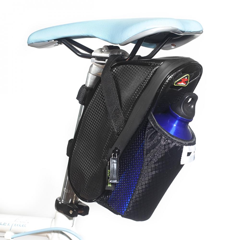 울프베이스 자전거 안장가방(물병거치) [제작 대량 도매 로고 인쇄 레이저 마킹 각인 나염 실크 uv 포장 공장 문의는 네이뽕]