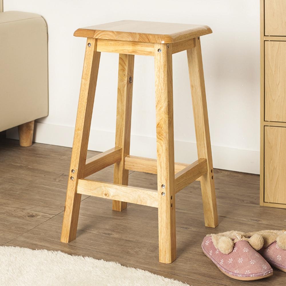 60cm 원목 사각 선반 겸 의자 [제작 대량 도매 로고 인쇄 레이저 마킹 각인 나염 실크 uv 포장 공장 문의는 네이뽕]