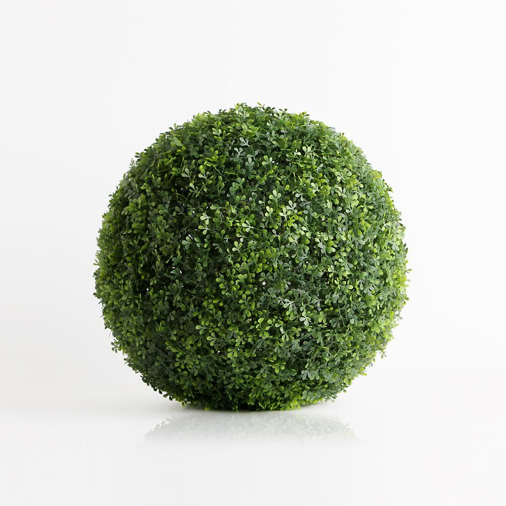 인테리어 초록 인조 잔디볼(16cm) [제작 대량 도매 로고 인쇄 레이저 마킹 각인 나염 실크 uv 포장 공장 문의는 네이뽕]