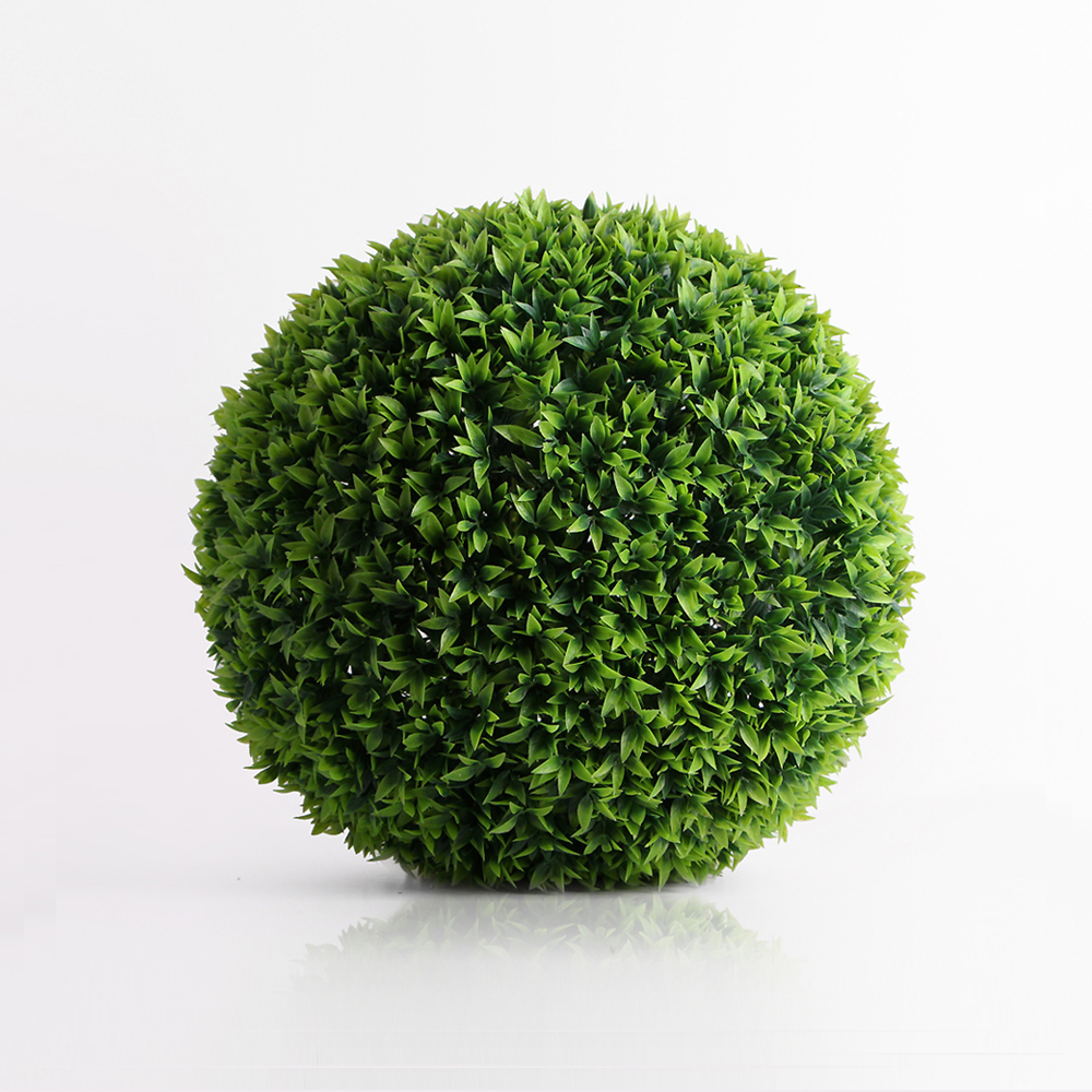 인테리어 녹색 인조 잔디볼(22cm) [제작 대량 도매 로고 인쇄 레이저 마킹 각인 나염 실크 uv 포장 공장 문의는 네이뽕]