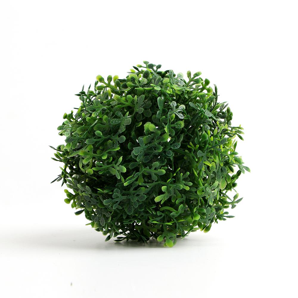인테리어 초록 인조 잔디볼(12cm) [제작 대량 도매 로고 인쇄 레이저 마킹 각인 나염 실크 uv 포장 공장 문의는 네이뽕]