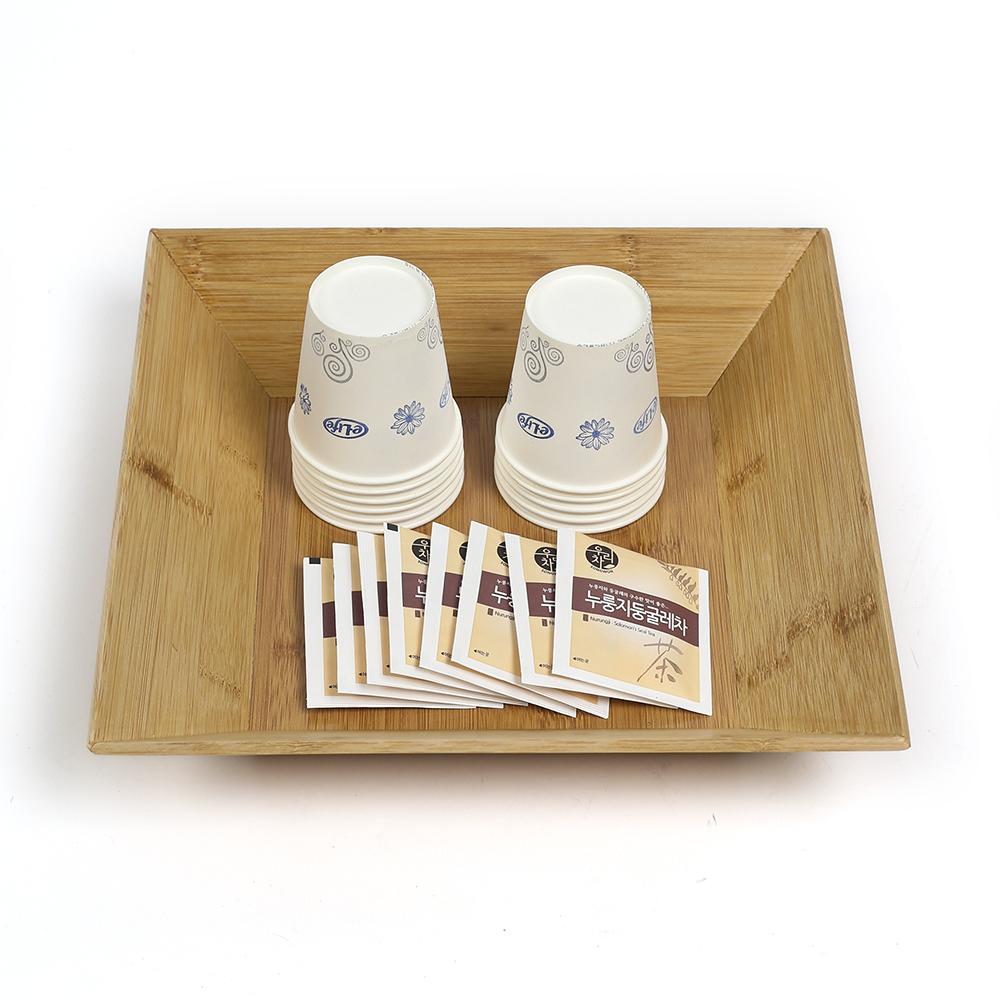 대나무 사각 우드 트레이(30cm) [제작 대량 도매 로고 인쇄 레이저 마킹 각인 나염 실크 uv 포장 공장 문의는 네이뽕]