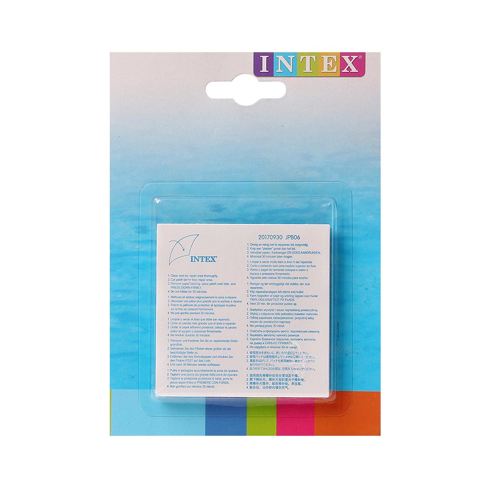 인텍스 수리 패치(6매) [제작 대량 도매 로고 인쇄 레이저 마킹 각인 나염 실크 uv 포장 공장 문의는 네이뽕]