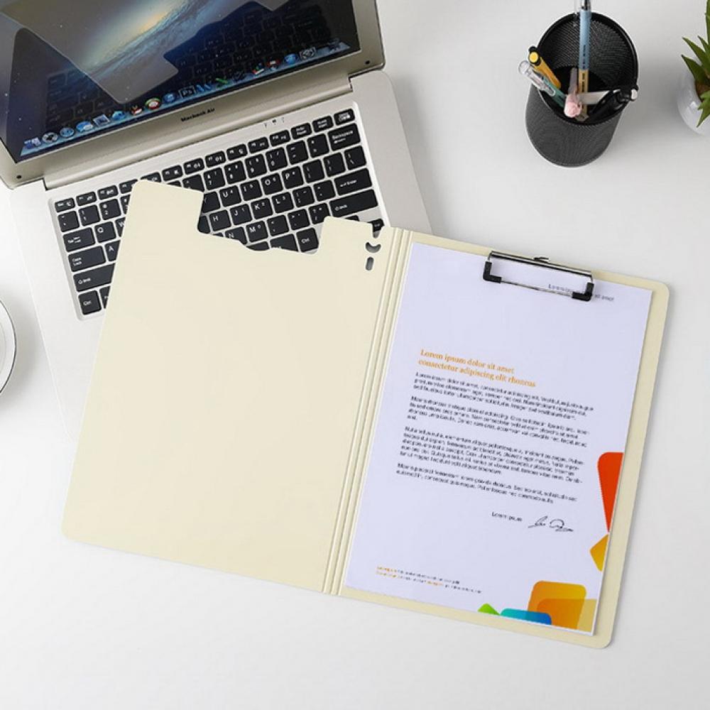 비비 오피스 A4 클립보드(세로형) [제작 대량 도매 로고 인쇄 레이저 마킹 각인 나염 실크 uv 포장 공장 문의는 네이뽕]