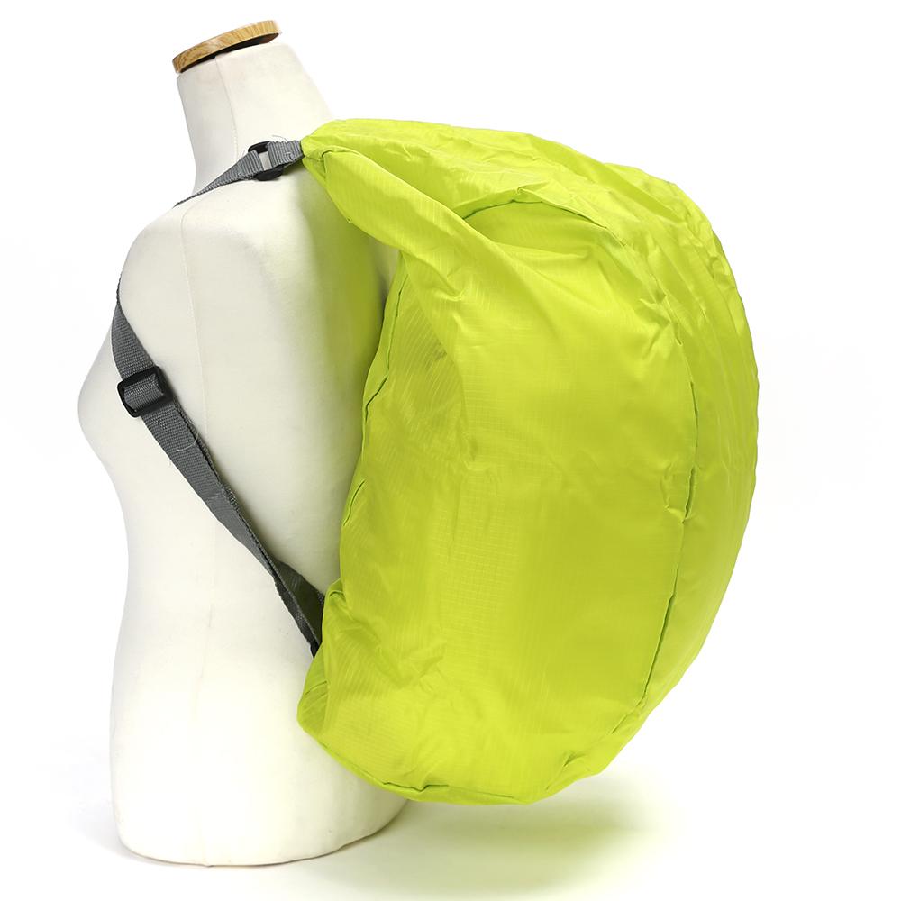 로코마켓 접이식배낭 보조가방(그린) [제작 대량 도매 로고 인쇄 레이저 마킹 각인 나염 실크 uv 포장 공장 문의는 네이뽕]