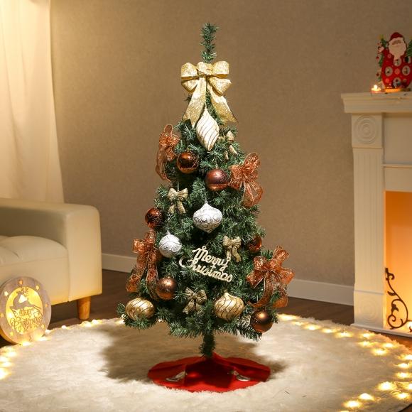 120cm 리디아 스카치트리 풀세트(전구포함) / 크리스마스트리 크리스마스츄리 크리스마스트리풀세트 크리스마스벽트리 크리스마스트리나무 대형크리스마스트리 크리스마스트리만들기