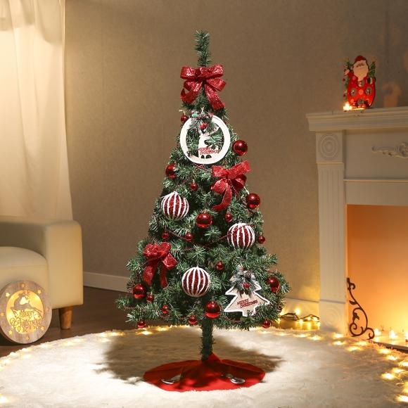 120cm 마르세 스카치트리 풀세트(전구포함) / 크리스마스트리 크리스마스츄리 크리스마스트리풀세트 크리스마스벽트리 크리스마스트리나무 대형크리스마스트리 크리스마스트리만들기