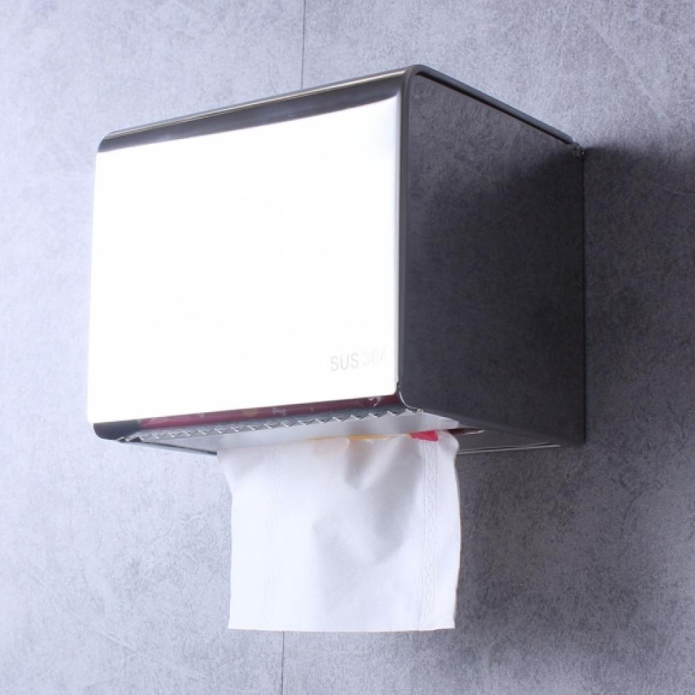 바스빌 스텐 휴지걸이 [제작 대량 도매 로고 인쇄 레이저 마킹 각인 나염 실크 uv 포장 공장 문의는 네이뽕]