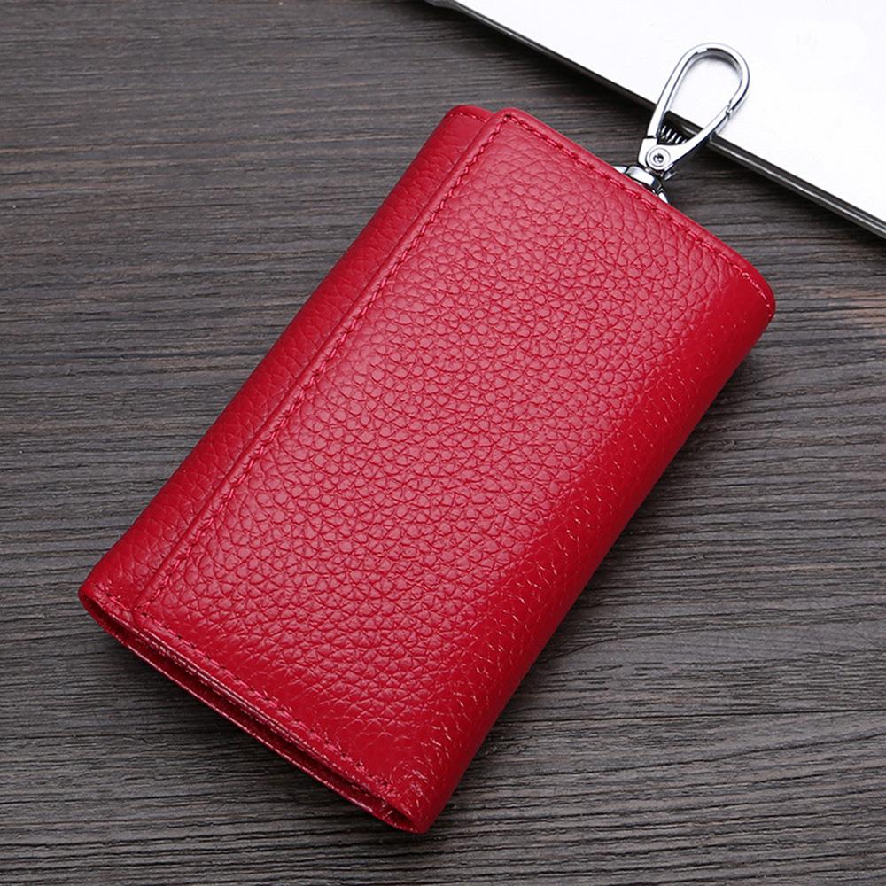 스마트 키홀더 지갑(레드) [제작 대량 도매 로고 인쇄 레이저 마킹 각인 나염 실크 uv 포장 공장 문의는 네이뽕]
