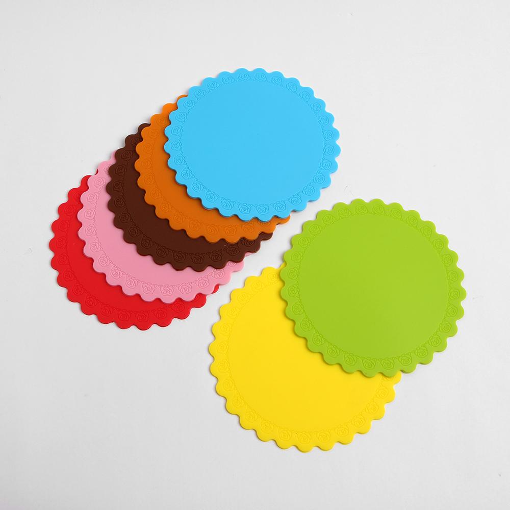 안심 실리콘 컵받침 7p세트 [제작 대량 도매 로고 인쇄 레이저 마킹 각인 나염 실크 uv 포장 공장 문의는 네이뽕]