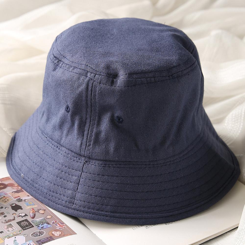 블리페 벙거지 모자 (다크블루) [제작 대량 도매 로고 인쇄 레이저 마킹 각인 나염 실크 uv 포장 공장 문의는 네이뽕]