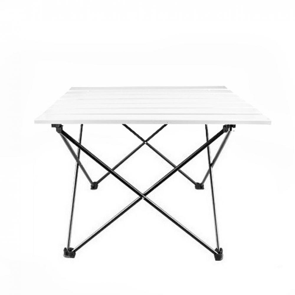 필라라 캠핑 휴대용 접이식 테이블(화이트) (대) [제작 대량 도매 로고 인쇄 레이저 마킹 각인 나염 실크 uv 포장 공장 문의는 네이뽕]