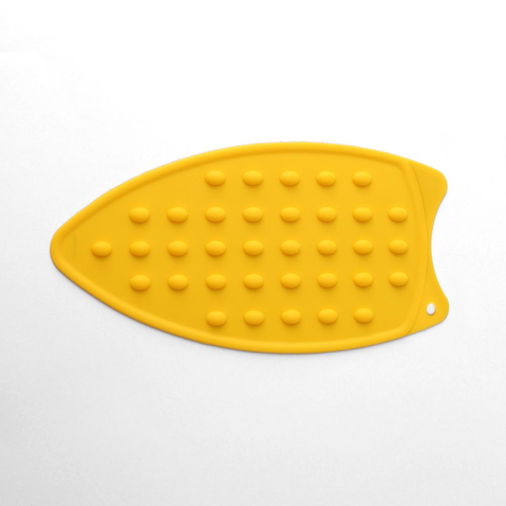 실리콘 다리미 받침대(옐로우) [제작 대량 도매 로고 인쇄 레이저 마킹 각인 나염 실크 uv 포장 공장 문의는 네이뽕]