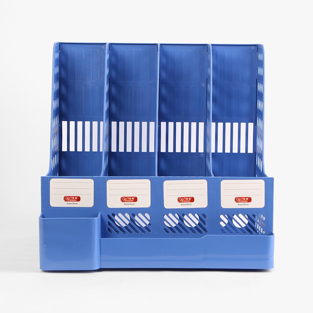 피스너 펜꽂이 4칸 문서 보관함 [제작 대량 도매 로고 인쇄 레이저 마킹 각인 나염 실크 uv 포장 공장 문의는 네이뽕]