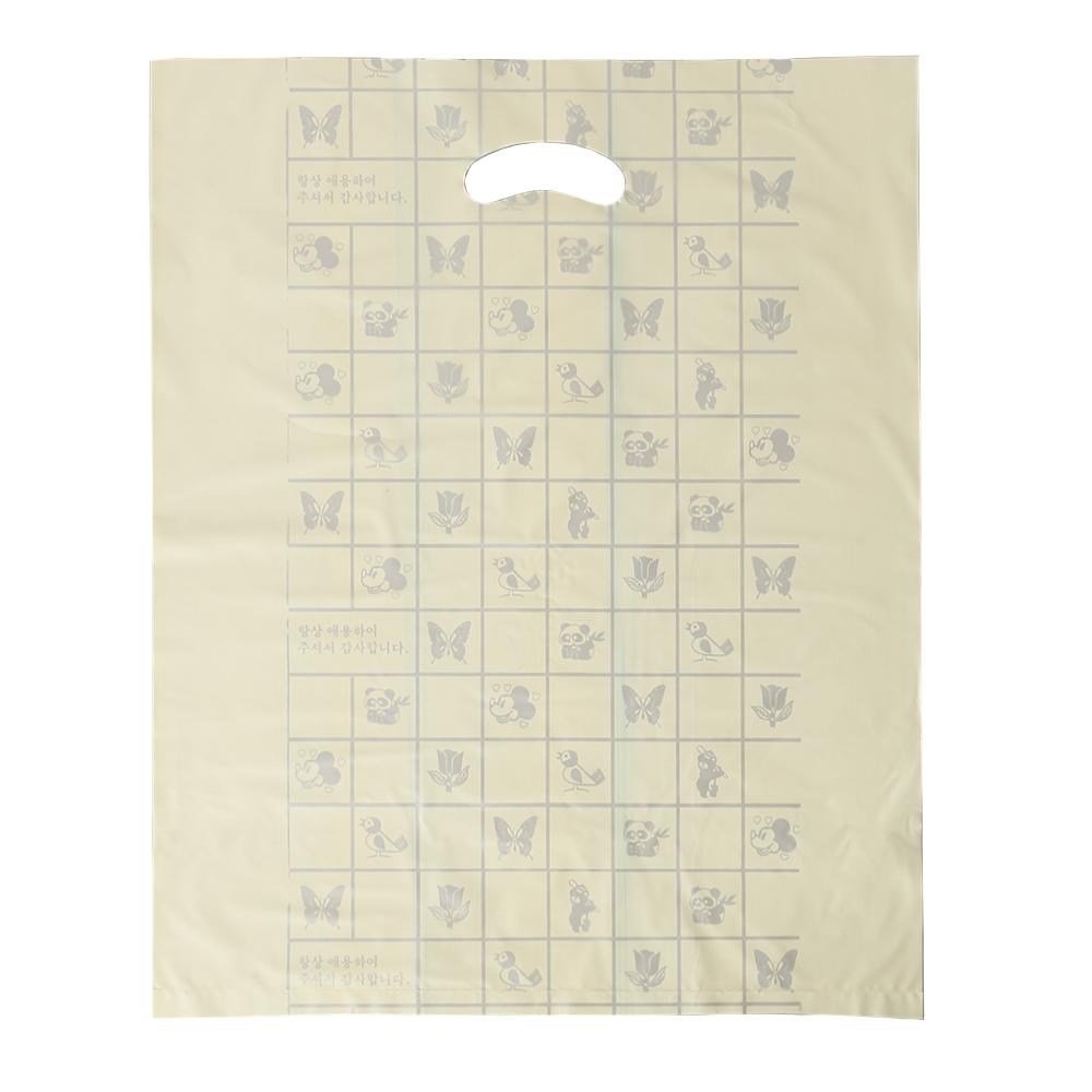 100p 양장비닐봉투(노랑) (40x50cm) [제작 대량 도매 로고 인쇄 레이저 마킹 각인 나염 실크 uv 포장 공장 문의는 네이뽕]