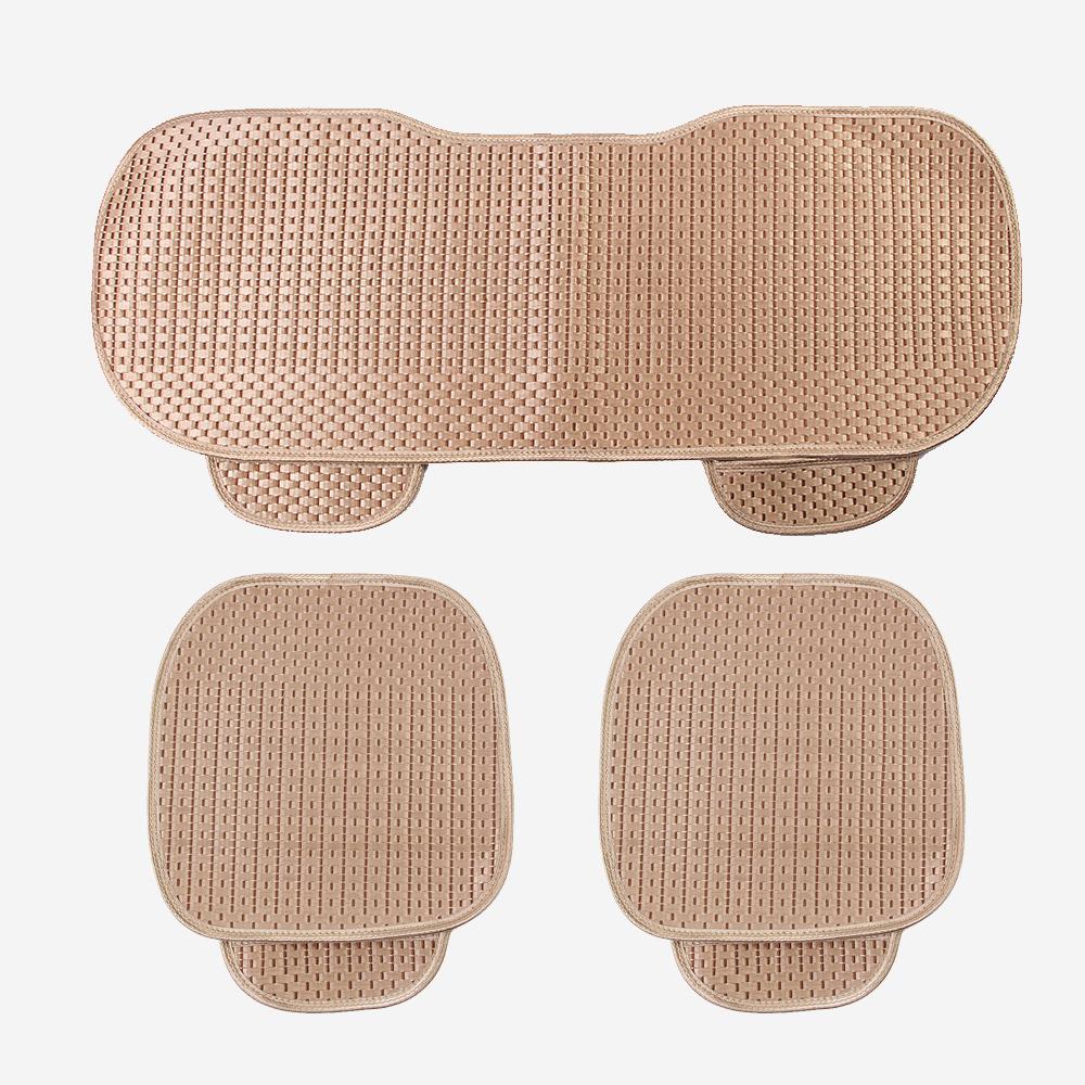 원스카 자동차 쿨시트 방석 3종세트(골드) [제작 대량 도매 로고 인쇄 레이저 마킹 각인 나염 실크 uv 포장 공장 문의는 네이뽕]