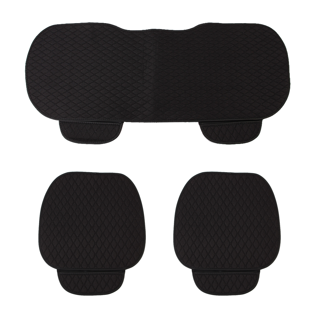 원스카 자동차 시트방석 3종세트(블랙) [제작 대량 도매 로고 인쇄 레이저 마킹 각인 나염 실크 uv 포장 공장 문의는 네이뽕]