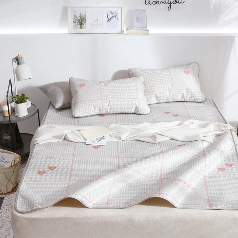 포리온 모던하트 침대 커버세트(180cmx200cm) [제작 대량 도매 로고 인쇄 레이저 마킹 각인 나염 실크 uv 포장 공장 문의는 네이뽕]