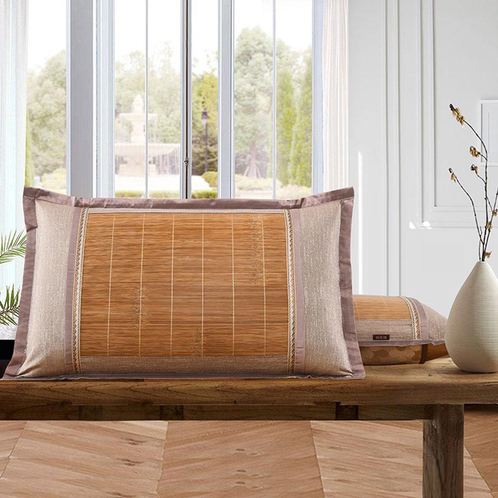 대나무 통풍 베개 커버 [제작 대량 도매 로고 인쇄 레이저 마킹 각인 나염 실크 uv 포장 공장 문의는 네이뽕]
