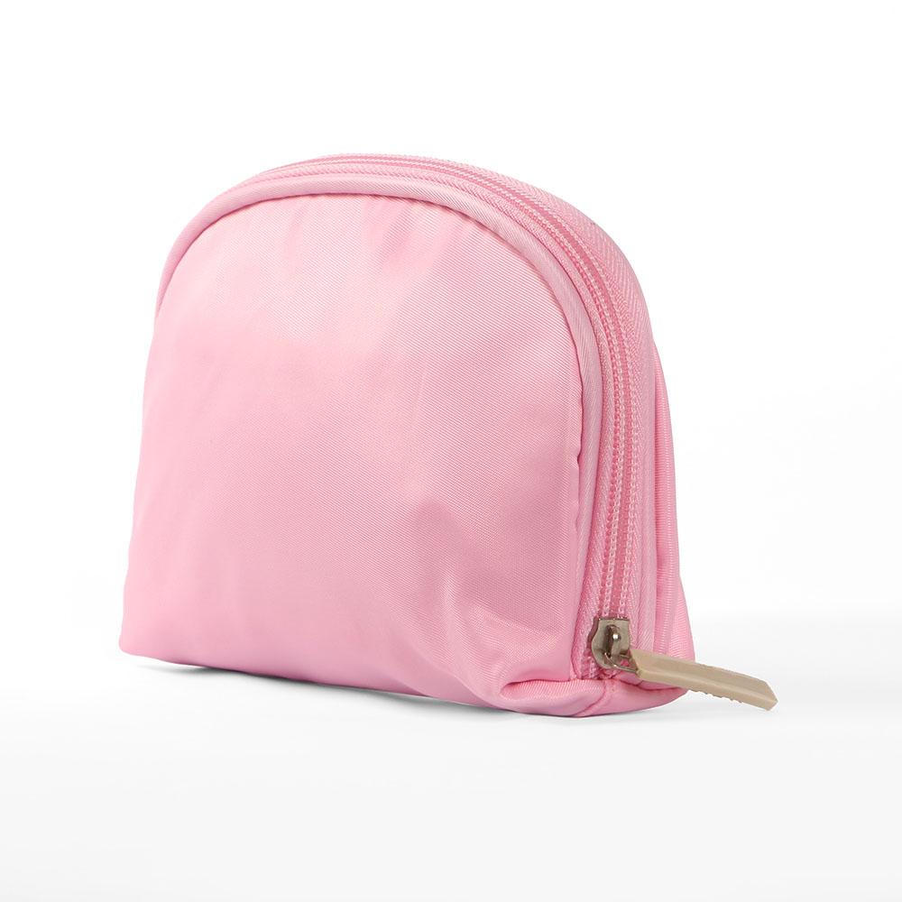 트래블 휴대용 파우치(핑크) [제작 대량 도매 로고 인쇄 레이저 마킹 각인 나염 실크 uv 포장 공장 문의는 네이뽕]