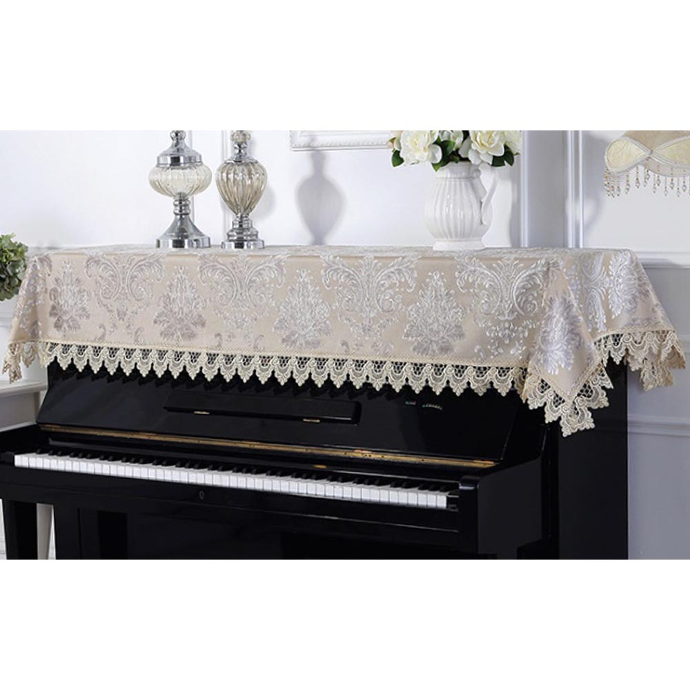 아벨리 벨벳 피아노 커버(90cmx200cm) (베이지) [제작 대량 도매 로고 인쇄 레이저 마킹 각인 나염 실크 uv 포장 공장 문의는 네이뽕]