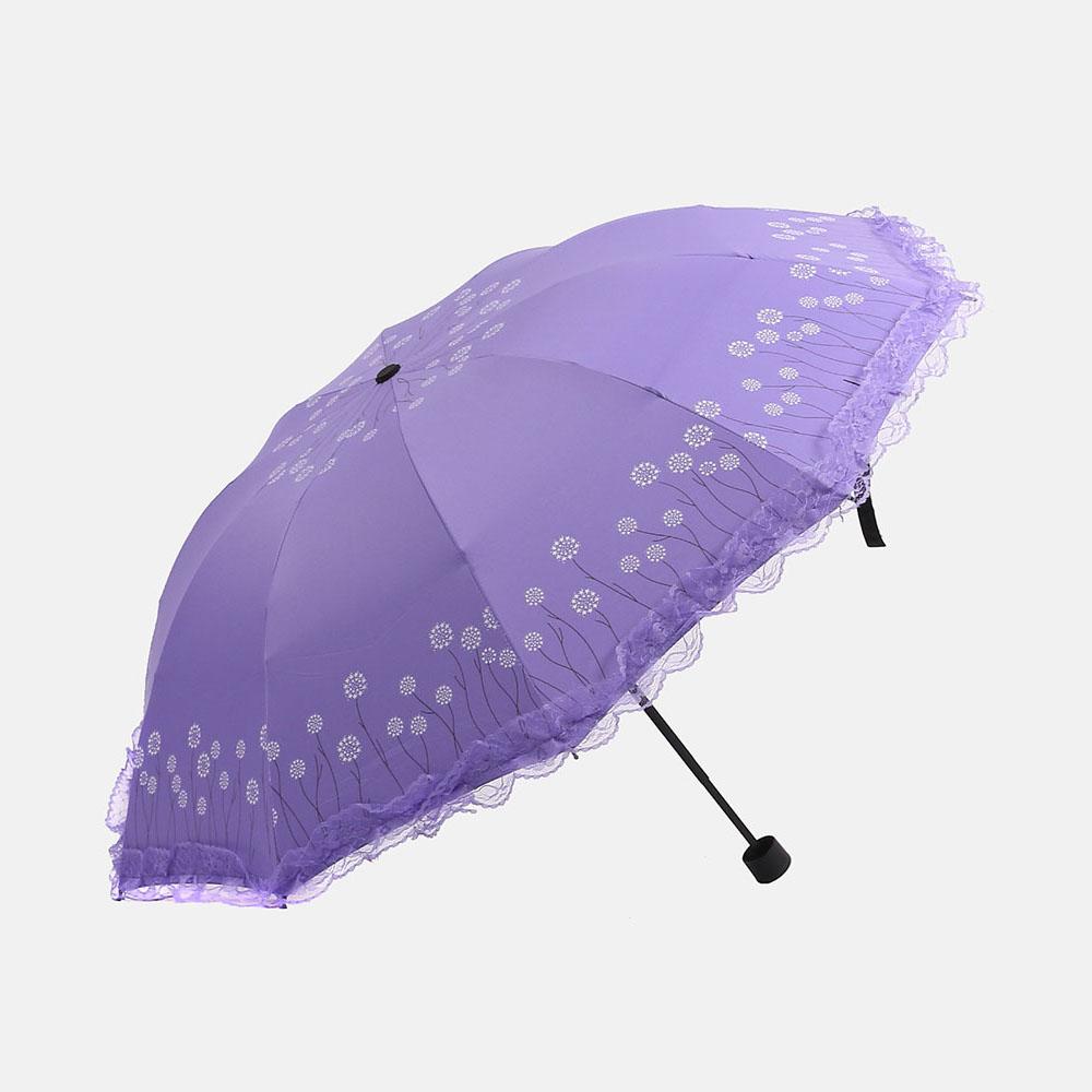 플로레인 3단 우산겸 양산 [제작 대량 도매 로고 인쇄 레이저 마킹 각인 나염 실크 uv 포장 공장 문의는 네이뽕]