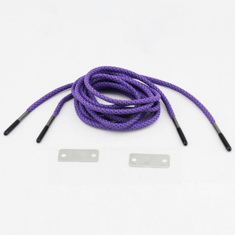 캠핑랜드 파이어스타터 신발끈 2p(퍼플) [제작 대량 도매 로고 인쇄 레이저 마킹 각인 나염 실크 uv 포장 공장 문의는 네이뽕]