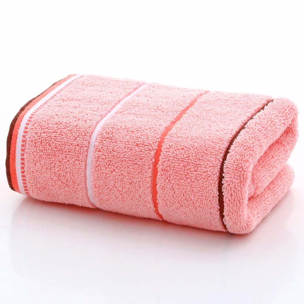 뽀송데이 스트라이프 순면타월 (핑크) [제작 대량 도매 로고 인쇄 레이저 마킹 각인 나염 실크 uv 포장 공장 문의는 네이뽕]