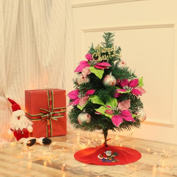 60cm 핑크 로망스 스카치트리 풀세트 / 크리스마스트리 크리스마스츄리 크리스마스트리풀세트 크리스마스벽트리 크리스마스트리나무 대형크리스마스트리 크리스마스트리만들기