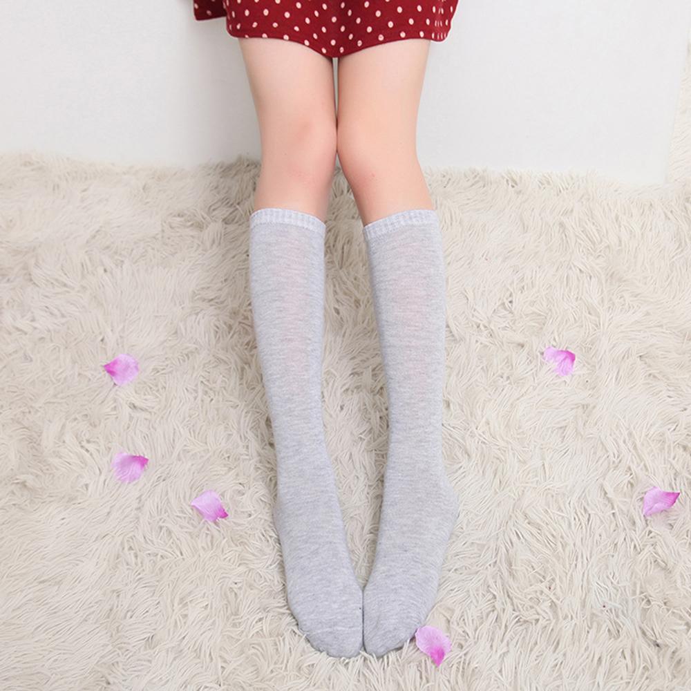 여성용 니삭스(그레이) (49cm) [제작 대량 도매 로고 인쇄 레이저 마킹 각인 나염 실크 uv 포장 공장 문의는 네이뽕]