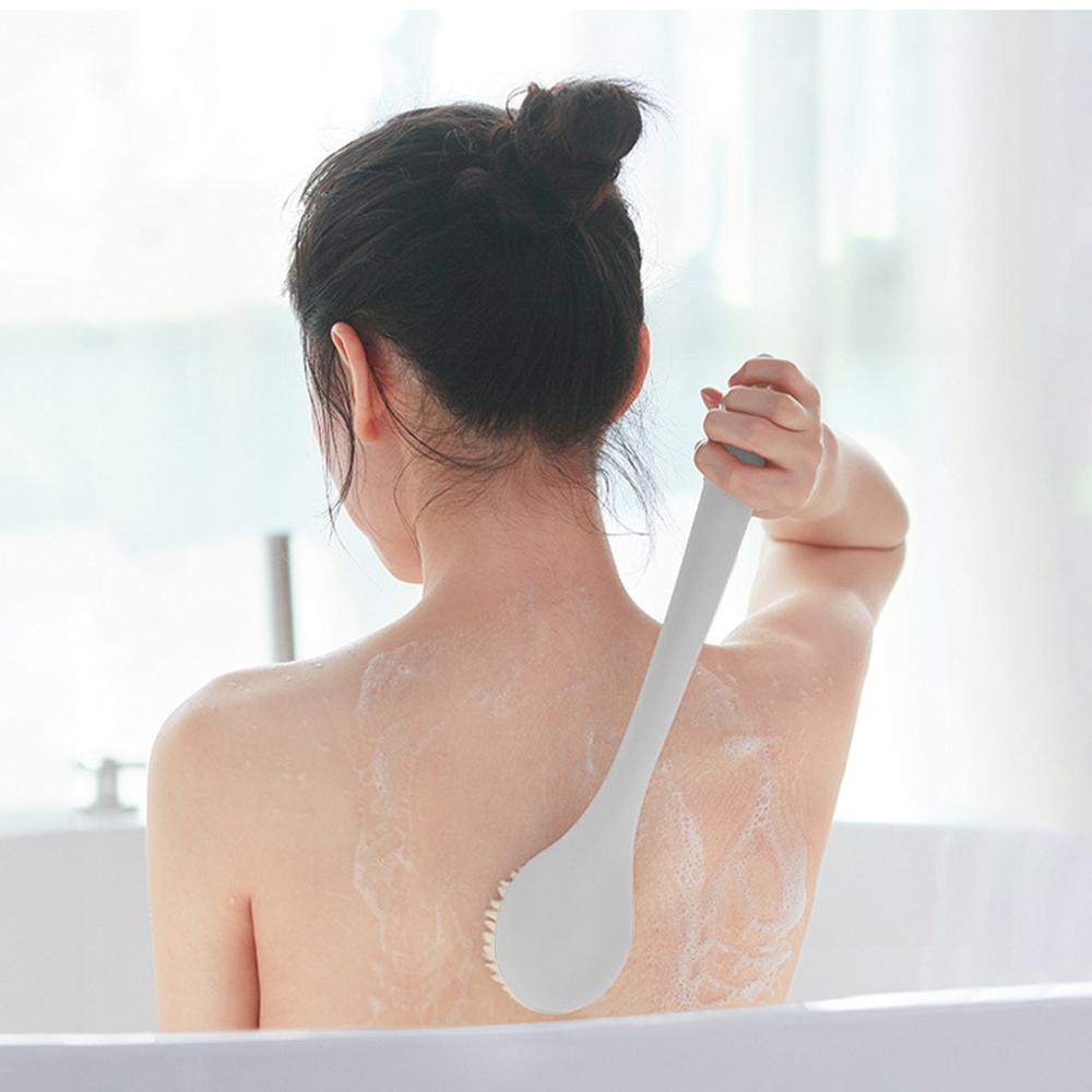 홈슨 바디 샤워브러쉬(그레이) [제작 대량 도매 로고 인쇄 레이저 마킹 각인 나염 실크 uv 포장 공장 문의는 네이뽕]