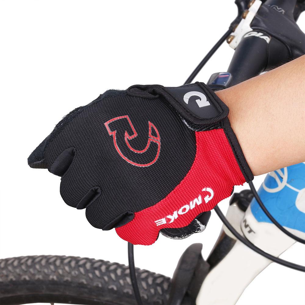 모케 에어 터치 자전거 장갑(레드) (L) [제작 대량 도매 로고 인쇄 레이저 마킹 각인 나염 실크 uv 포장 공장 문의는 네이뽕]