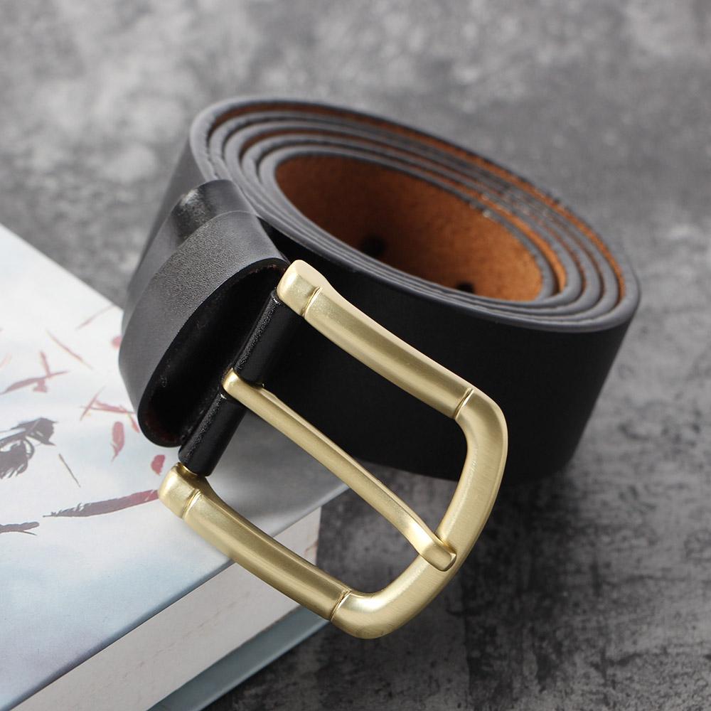맨리프 핀버클 가죽벨트(블랙) (110cm) [제작 대량 도매 로고 인쇄 레이저 마킹 각인 나염 실크 uv 포장 공장 문의는 네이뽕]