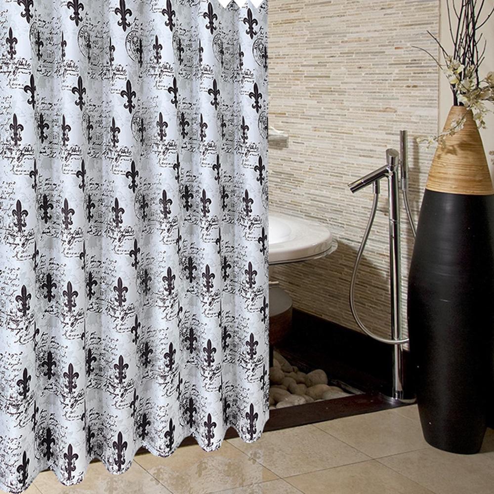 홈카터 럭셔리 샤워커튼 (150cmx180cm) [제작 대량 도매 로고 인쇄 레이저 마킹 각인 나염 실크 uv 포장 공장 문의는 네이뽕]