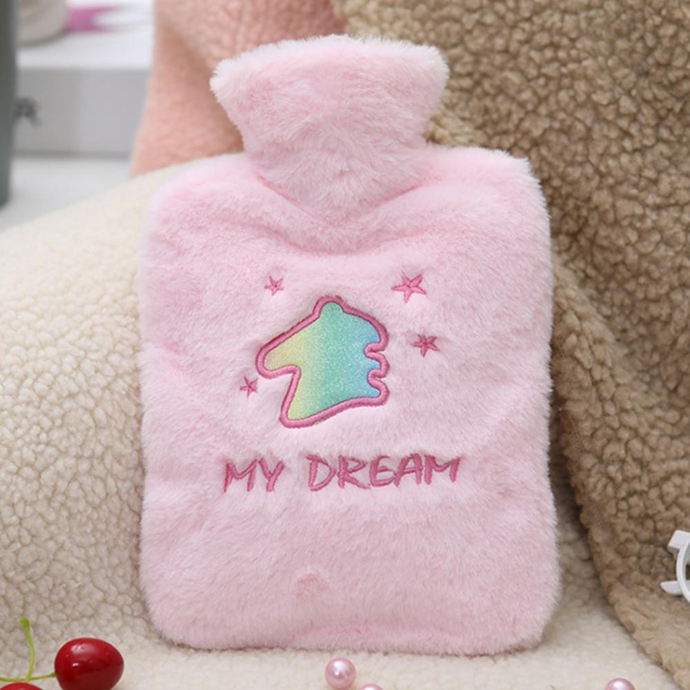 1L 나의 꿈 보온 물주머니(핑크) [제작 대량 도매 로고 인쇄 레이저 마킹 각인 나염 실크 uv 포장 공장 문의는 네이뽕]