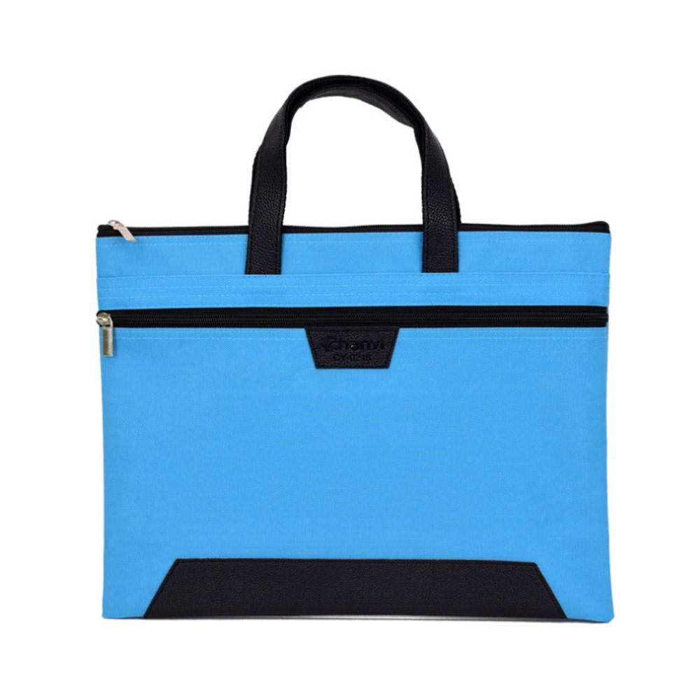 오르곤 심플 서류가방(블루) [제작 대량 도매 로고 인쇄 레이저 마킹 각인 나염 실크 uv 포장 공장 문의는 네이뽕]