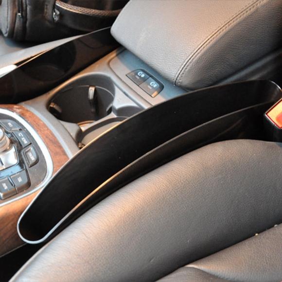저스토 자동차 틈새 수납 2p세트(블랙)