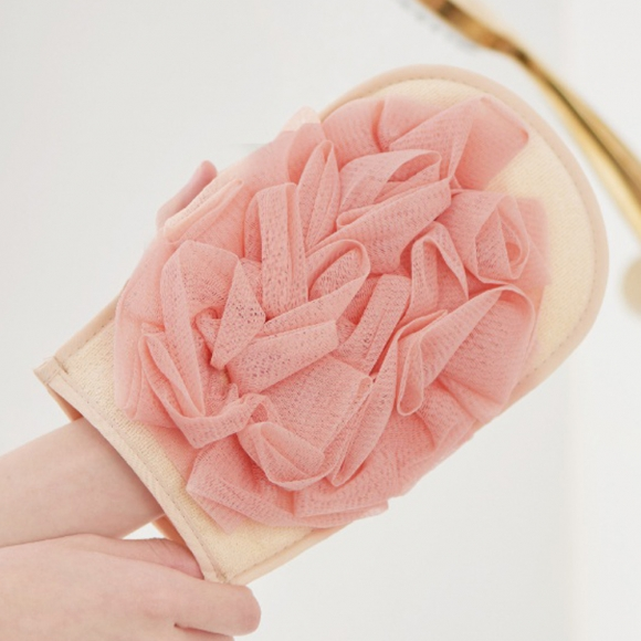 소프트 거품 샤워장갑(핑크)
