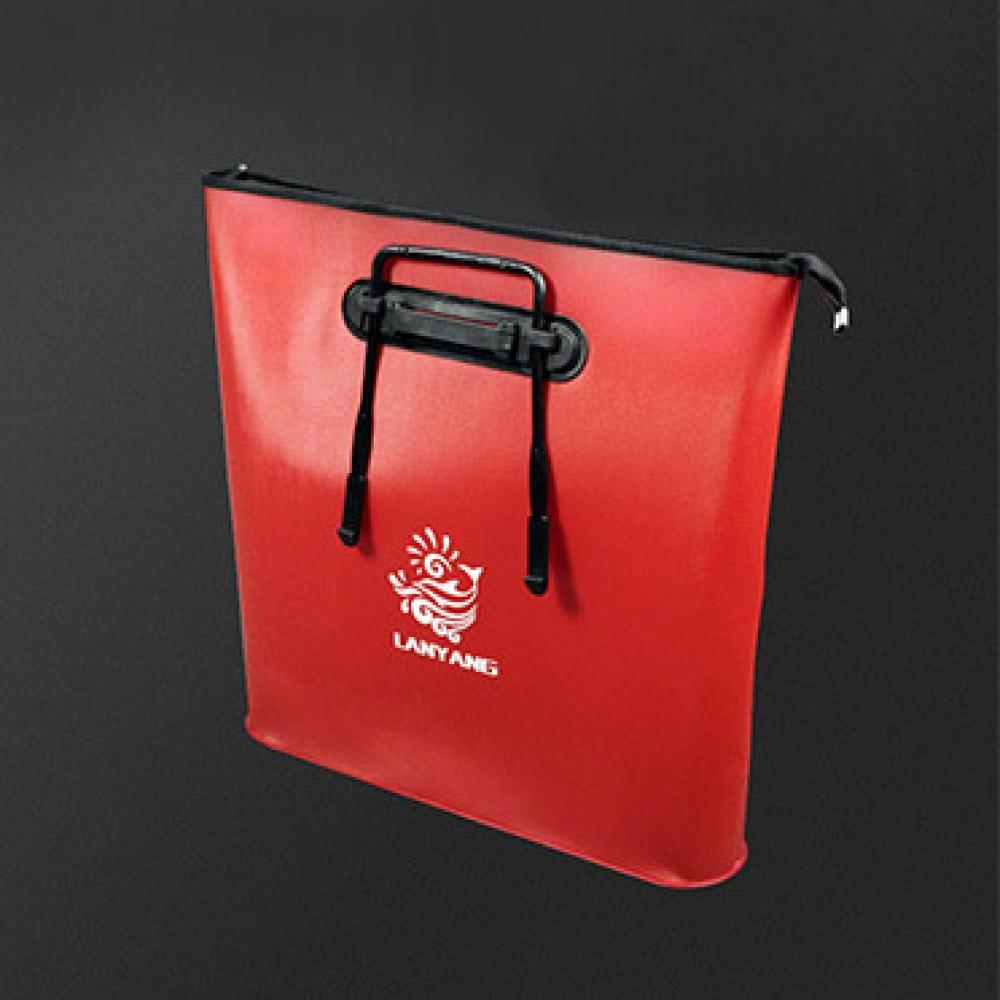 피쉬존 휴대용 낚시 보조가방(레드) [제작 대량 도매 로고 인쇄 레이저 마킹 각인 나염 실크 uv 포장 공장 문의는 네이뽕]