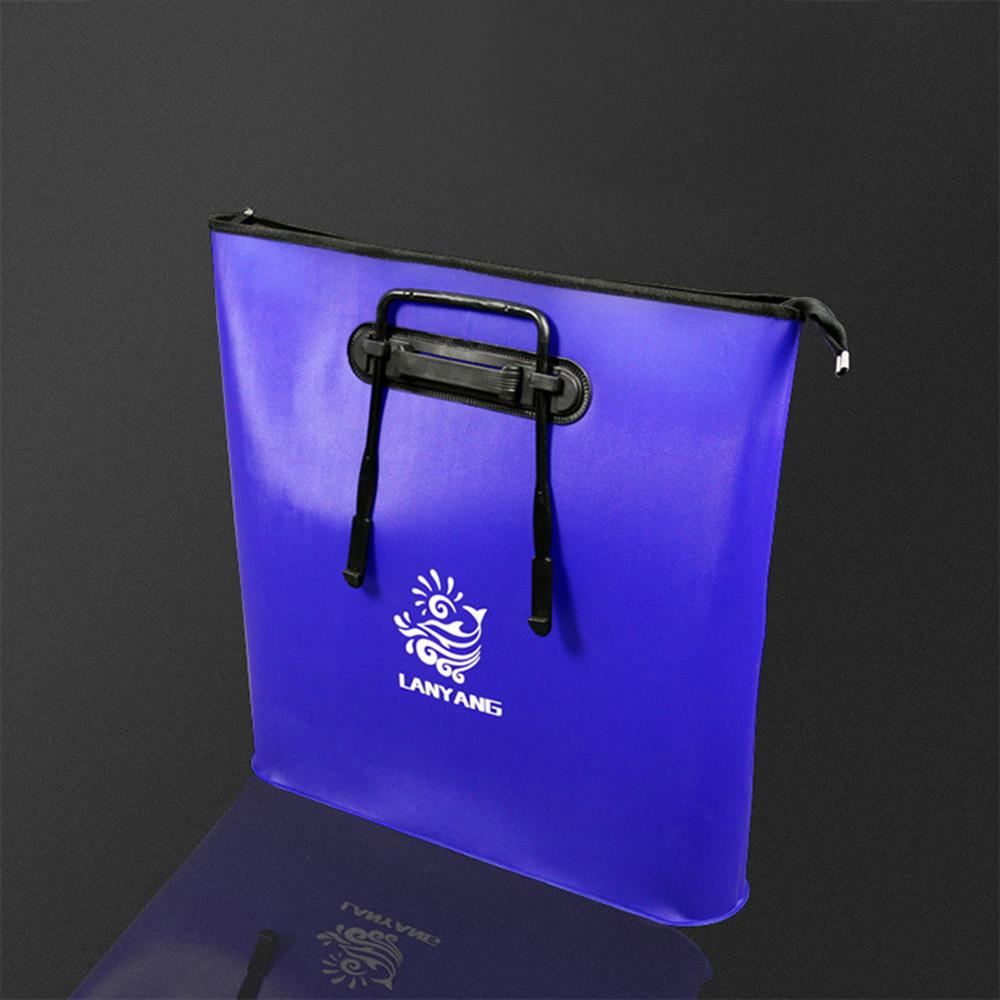 피쉬존 휴대용 낚시 보조가방(블루) [제작 대량 도매 로고 인쇄 레이저 마킹 각인 나염 실크 uv 포장 공장 문의는 네이뽕]