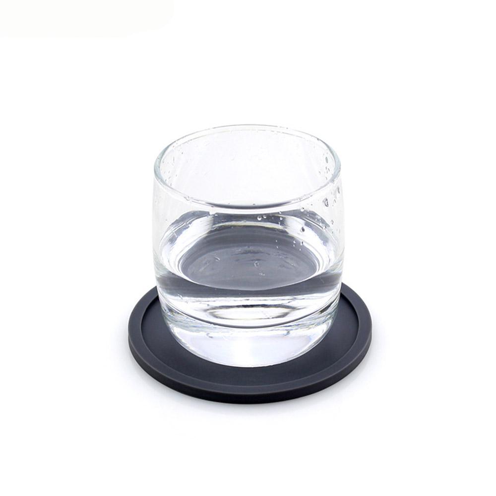 모스 4p 실리콘 원형 컵받침 세트(그레이) [제작 대량 도매 로고 인쇄 레이저 마킹 각인 나염 실크 uv 포장 공장 문의는 네이뽕]