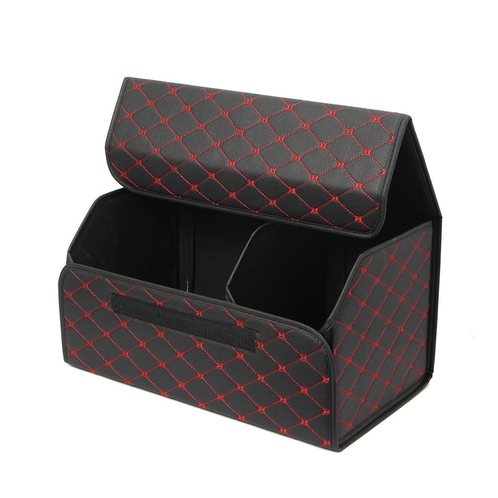 콤팩트 접이식 트렁크 정리함(블랙) (54x31cm) [제작 대량 도매 로고 인쇄 레이저 마킹 각인 나염 실크 uv 포장 공장 문의는 네이뽕]