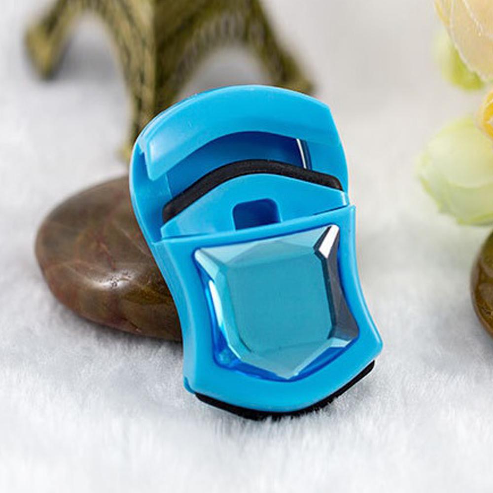휴대용 미니 보석 속눈썹 뷰러(블루) [제작 대량 도매 로고 인쇄 레이저 마킹 각인 나염 실크 uv 포장 공장 문의는 네이뽕]