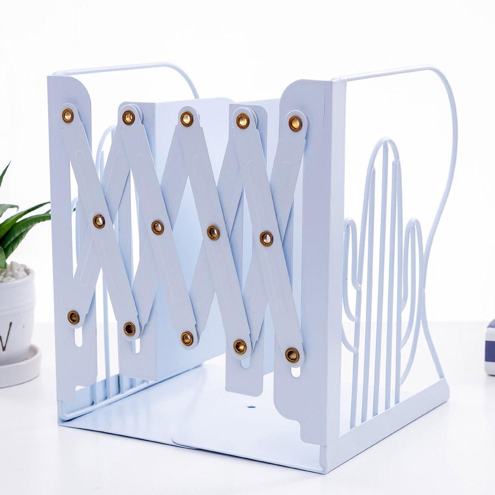 온달 선인장 접이식 책꽂이(블루) [제작 대량 도매 로고 인쇄 레이저 마킹 각인 나염 실크 uv 포장 공장 문의는 네이뽕]