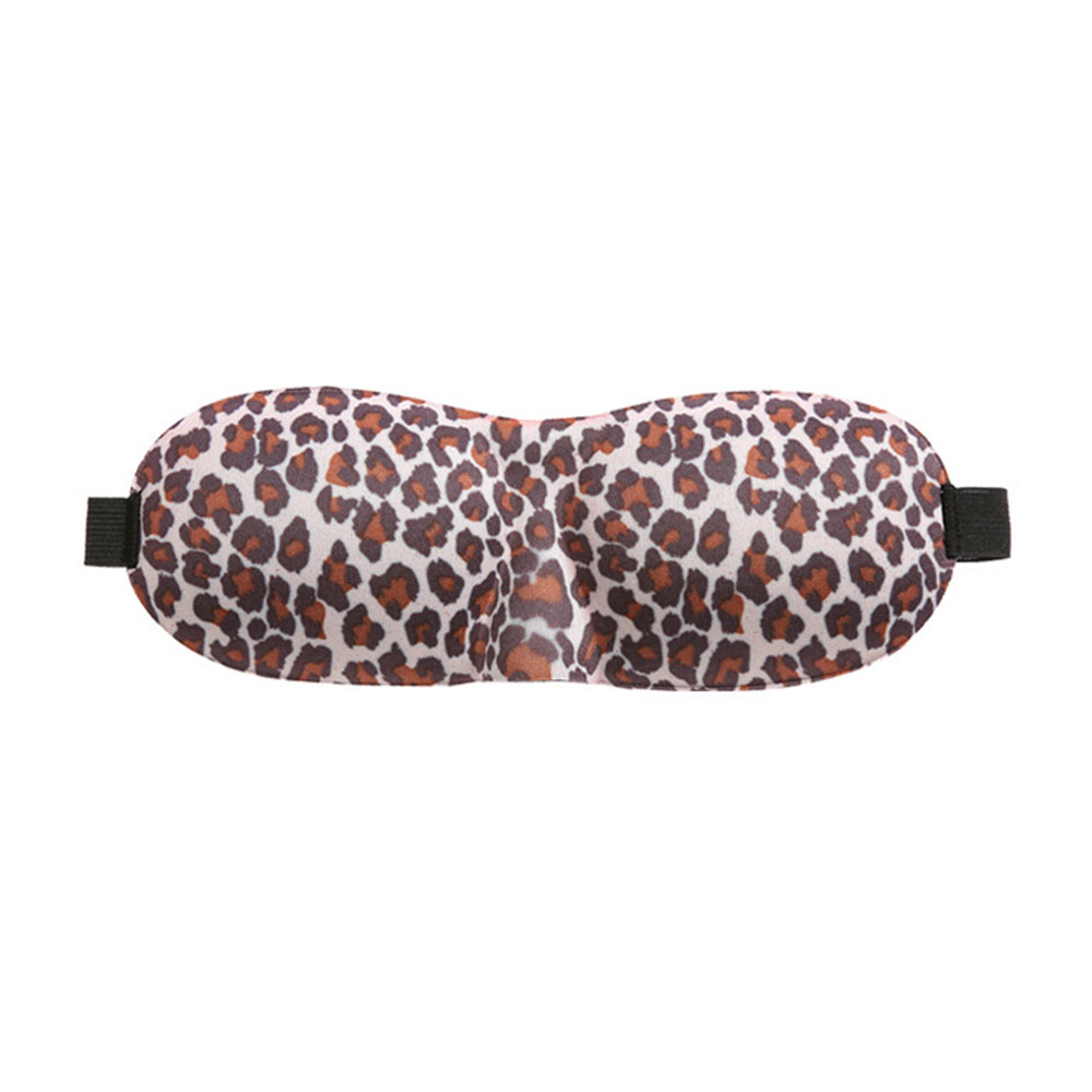 3D 입체 호피무늬 코가리개 수면안대 [제작 대량 도매 로고 인쇄 레이저 마킹 각인 나염 실크 uv 포장 공장 문의는 네이뽕]