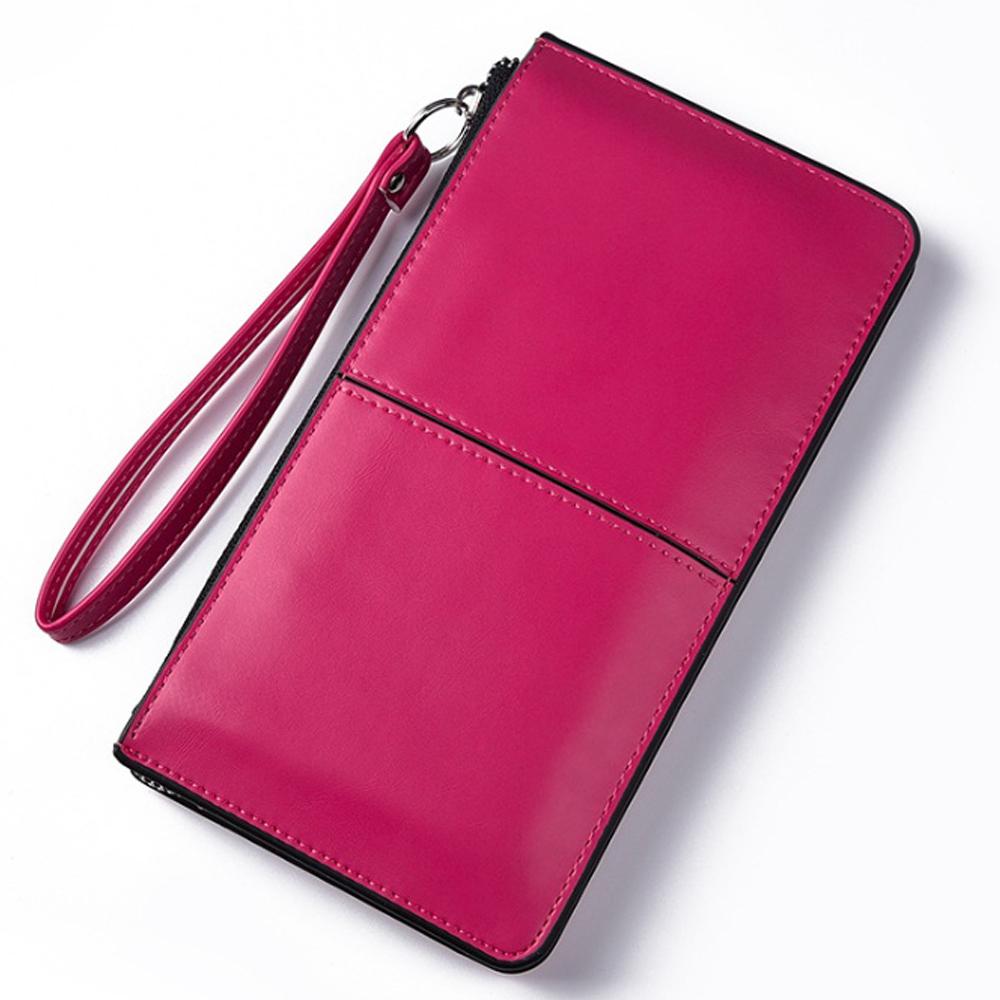 칼큰 클러치백 겸용 장지갑(핑크) [제작 대량 도매 로고 인쇄 레이저 마킹 각인 나염 실크 uv 포장 공장 문의는 네이뽕]