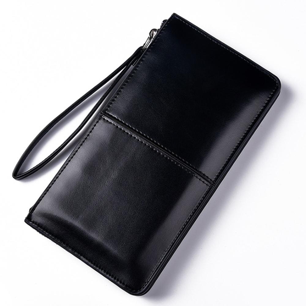 칼큰 클러치백 겸용 장지갑(블랙) [제작 대량 도매 로고 인쇄 레이저 마킹 각인 나염 실크 uv 포장 공장 문의는 네이뽕]